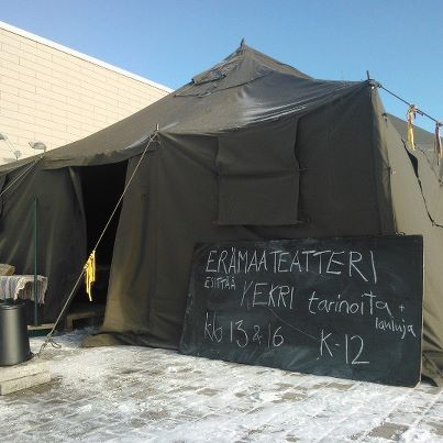 Erämaateatteri @ Porvoo 2012 (Kuva Markus Luukkonen)